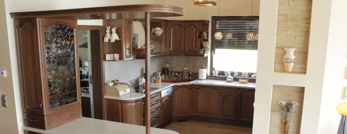 klasyczne meble kuchenne na wymiar fronty drewniane szczecin. Black Bedroom Furniture Sets. Home Design Ideas